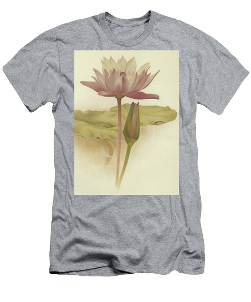 Water Lily  Nymphaea Zanzibarensis Men's T-Shirt (Athletic Fit)