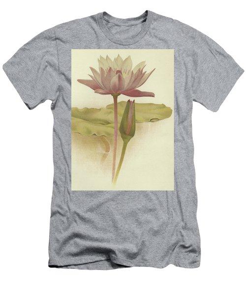 Water Lily  Nymphaea Zanzibarensis Men's T-Shirt (Athletic Fit)