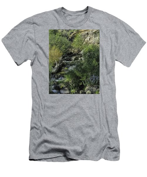 Water Logged Men's T-Shirt (Slim Fit) by Nancy Marie Ricketts