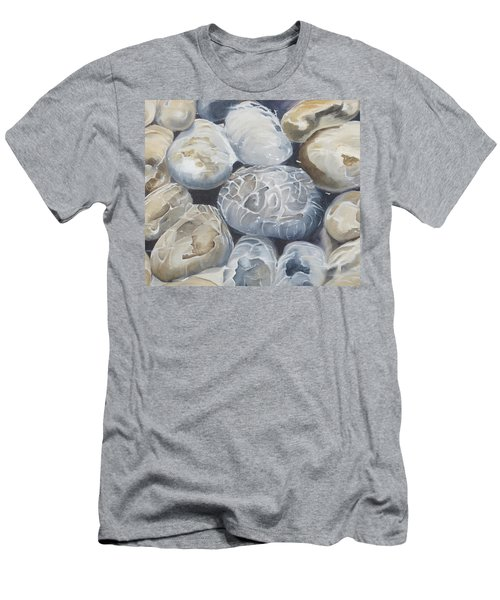 Water Of Pebbles Men's T-Shirt (Athletic Fit)