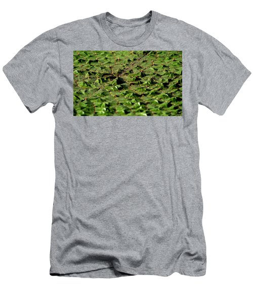 Men's T-Shirt (Athletic Fit) featuring the photograph Water Plant 3 by Buddy Scott