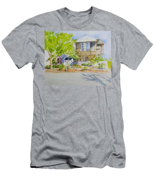 Water Street, Rosemary Beach Men's T-Shirt (Athletic Fit)