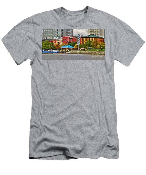 Water Street-toledo Ohio Men's T-Shirt (Athletic Fit)