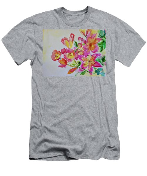 Watercolor Series No. 225 Men's T-Shirt (Athletic Fit)