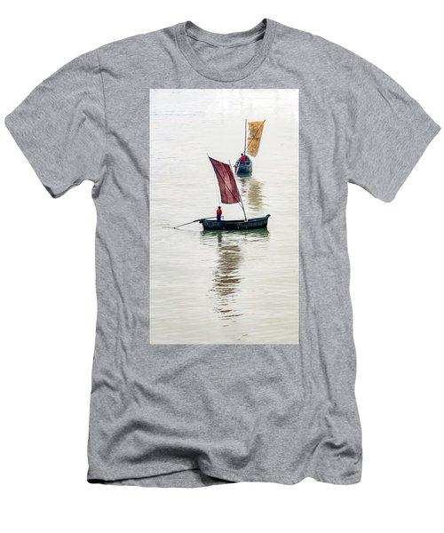 Watercolor. Men's T-Shirt (Athletic Fit)