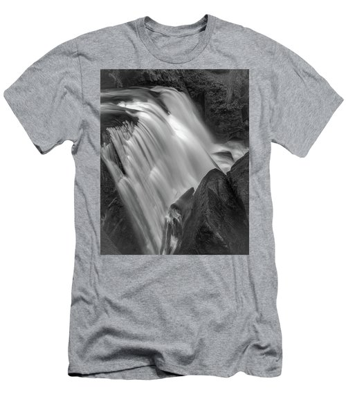 Men's T-Shirt (Slim Fit) featuring the photograph Waterfall 1577 by Chris McKenna