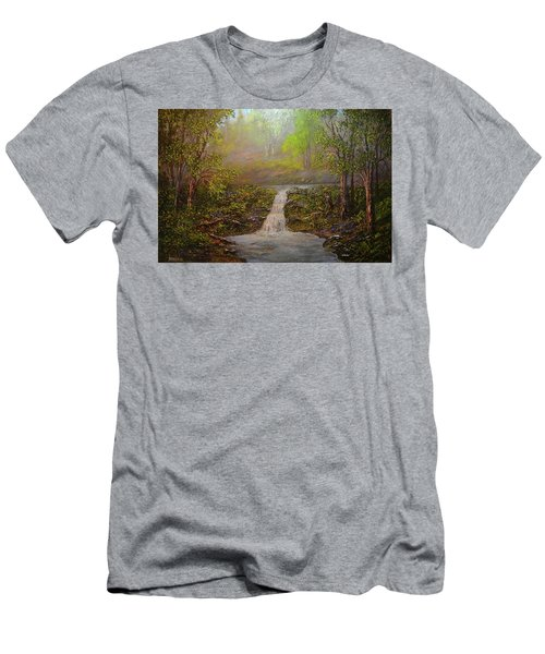 A Place Of Peace  Men's T-Shirt (Athletic Fit)