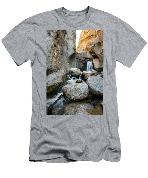 Waterfall In The Buttermilks Men's T-Shirt (Athletic Fit)