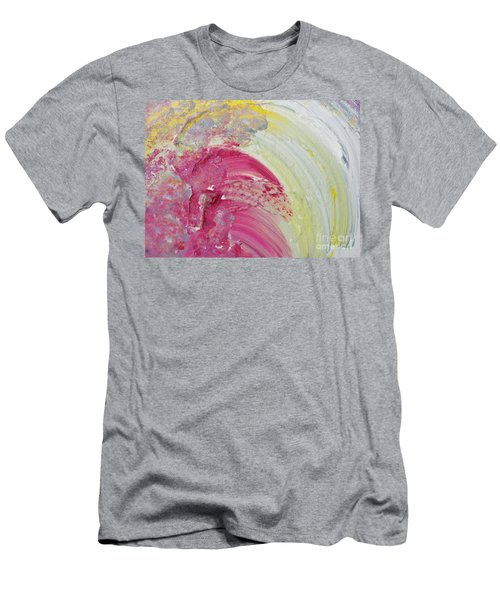 Waterfall In Pink Men's T-Shirt (Athletic Fit)