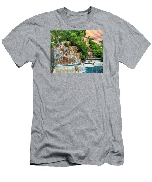 Waterfall Vegas Men's T-Shirt (Athletic Fit)