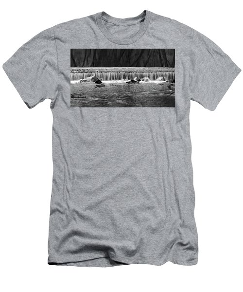 Waterfall004 Men's T-Shirt (Athletic Fit)
