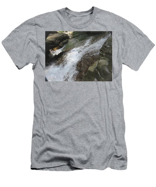 Men's T-Shirt (Athletic Fit) featuring the photograph Watering Hole by Aaron Martens