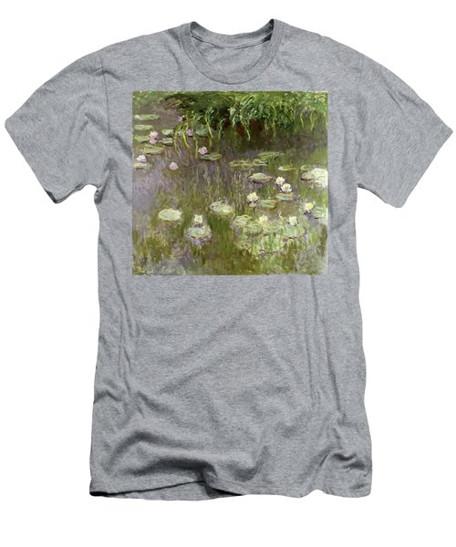 Waterlilies At Midday Men's T-Shirt (Athletic Fit)
