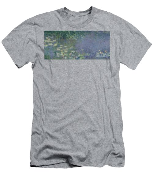 Waterlilies Morning Men's T-Shirt (Athletic Fit)