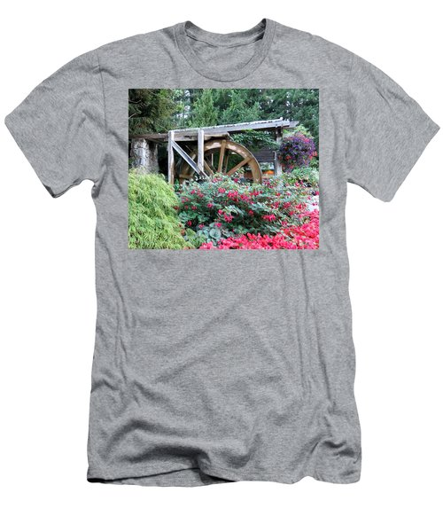 Waterwheel Men's T-Shirt (Athletic Fit)