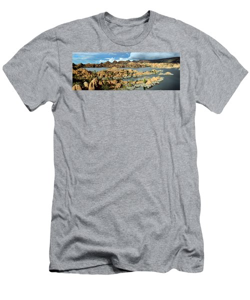 Watson Lake Arizona Men's T-Shirt (Athletic Fit)