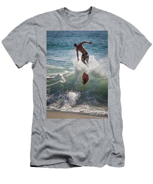 Wave Skimmer Men's T-Shirt (Slim Fit) by Jim Gillen