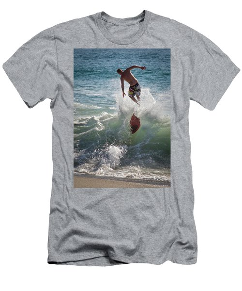 Wave Skimmer Men's T-Shirt (Athletic Fit)