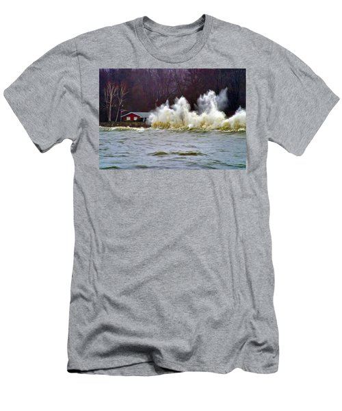 Waveform Men's T-Shirt (Athletic Fit)