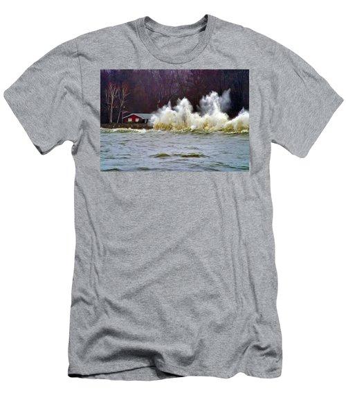 Waveform Men's T-Shirt (Athletic Fit)