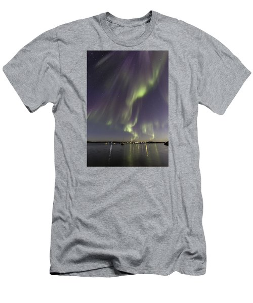 Waves Of Color Men's T-Shirt (Athletic Fit)