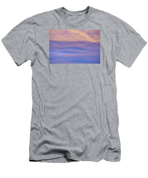 Men's T-Shirt (Slim Fit) featuring the photograph Waves Of Color by Wanda Krack