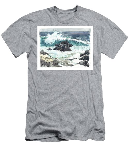 Wawaloli Beach, Hawaii Men's T-Shirt (Athletic Fit)