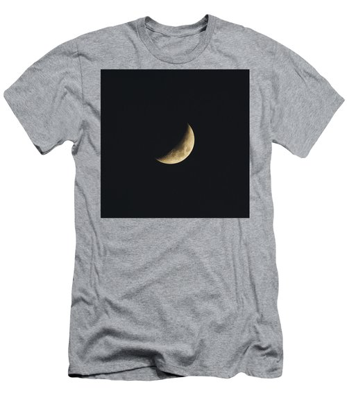 Waxing Crescent Spring 2017 Men's T-Shirt (Slim Fit) by Jason Coward