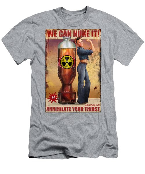We Can Nuke It Men's T-Shirt (Athletic Fit)