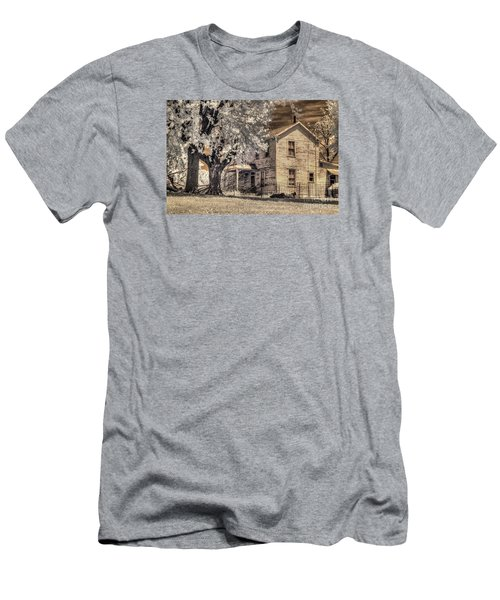 We Had Cows In The Yard Men's T-Shirt (Slim Fit) by William Fields