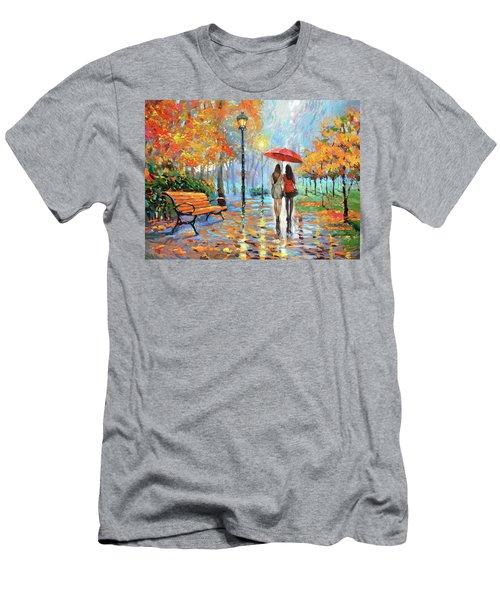 We Met In Park          Men's T-Shirt (Athletic Fit)