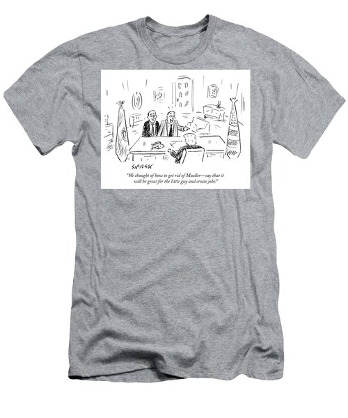 We Thought Of How To Get Rid Of Mueller Men's T-Shirt (Athletic Fit)