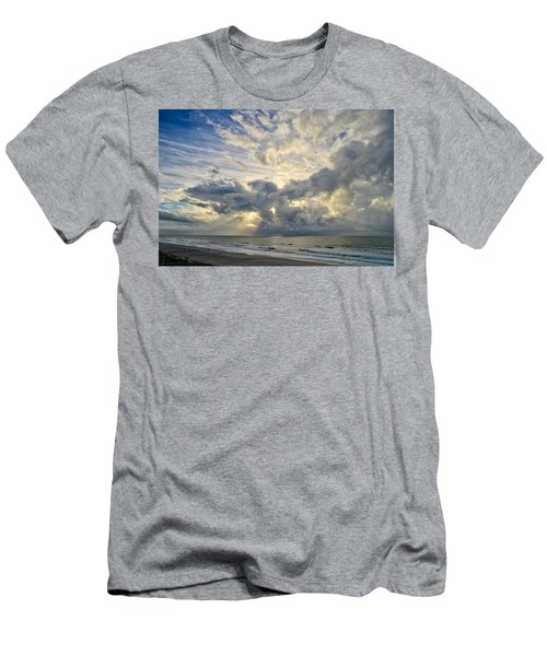 Weather Over Topsail Beach 2977 Men's T-Shirt (Athletic Fit)