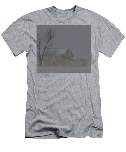 Weathering The Blizzard Men's T-Shirt (Athletic Fit)