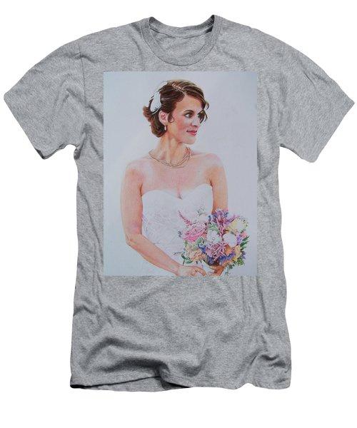 Wedding Day Men's T-Shirt (Slim Fit) by Constance DRESCHER