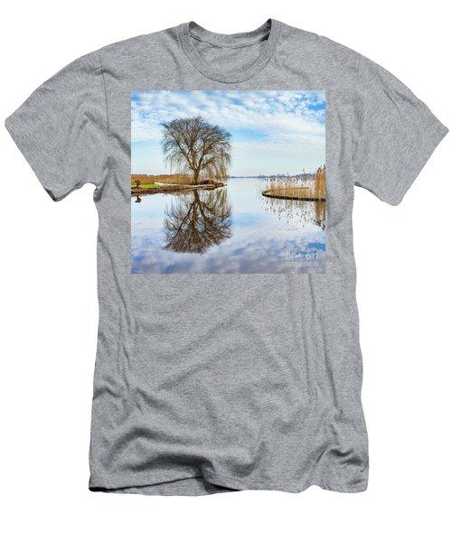 Weeping-willow-1 Men's T-Shirt (Slim Fit)