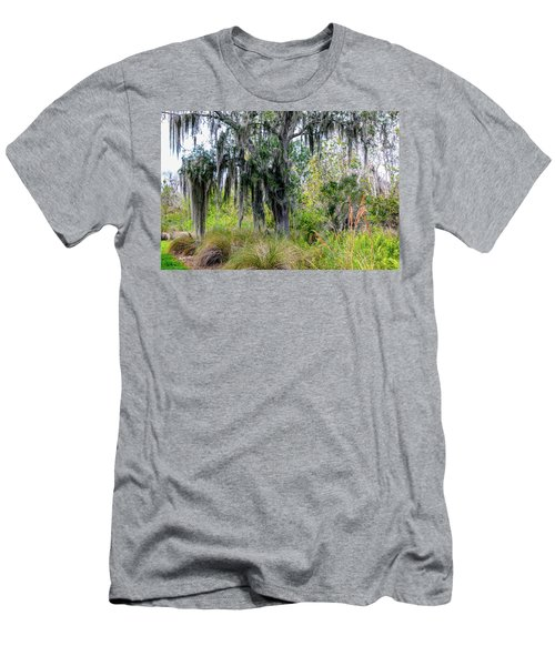 Men's T-Shirt (Slim Fit) featuring the photograph Weeping Willow by Madeline Ellis
