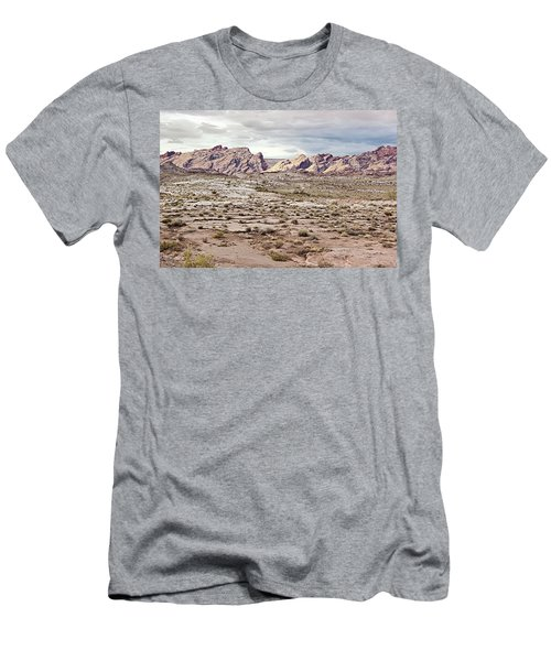 Weird Rock Formation Men's T-Shirt (Athletic Fit)