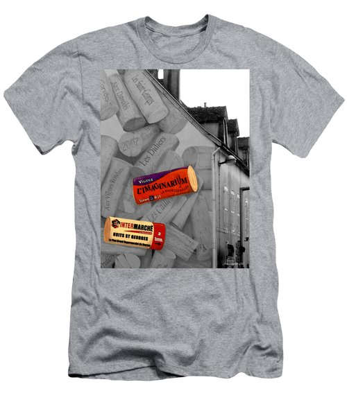 Men's T-Shirt (Slim Fit) featuring the photograph Welcome To Bordeaux by Joan  Minchak