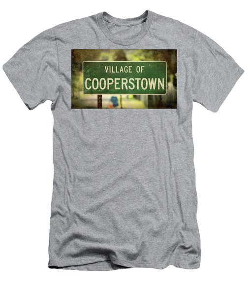 Welcome To Cooperstown Men's T-Shirt (Athletic Fit)