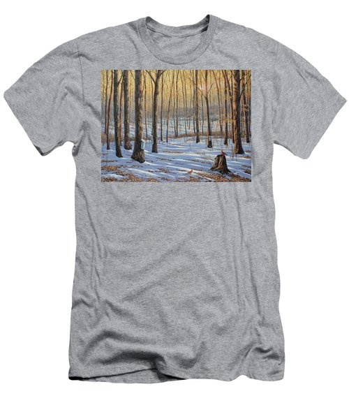 Welcoming The Sunrise Men's T-Shirt (Athletic Fit)