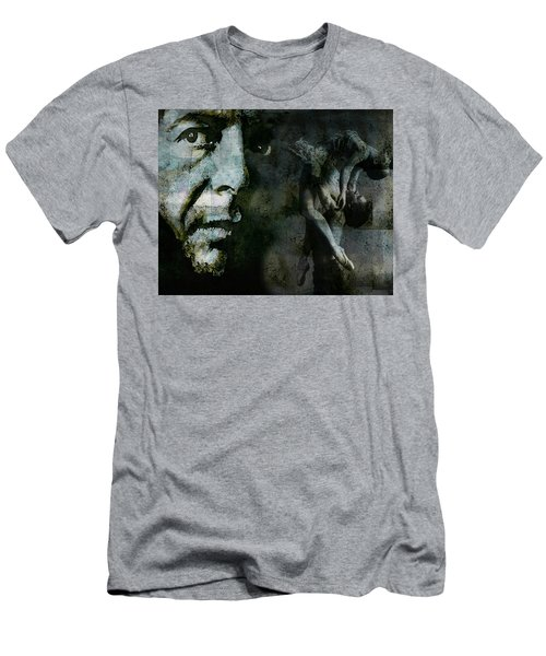 Men's T-Shirt (Slim Fit) featuring the painting Well , I've Heard There Is A Secret Chord by Paul Lovering