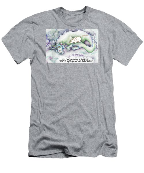 Well Documented Fpi Editorial Cartoon Men's T-Shirt (Slim Fit) by Dawn Sperry