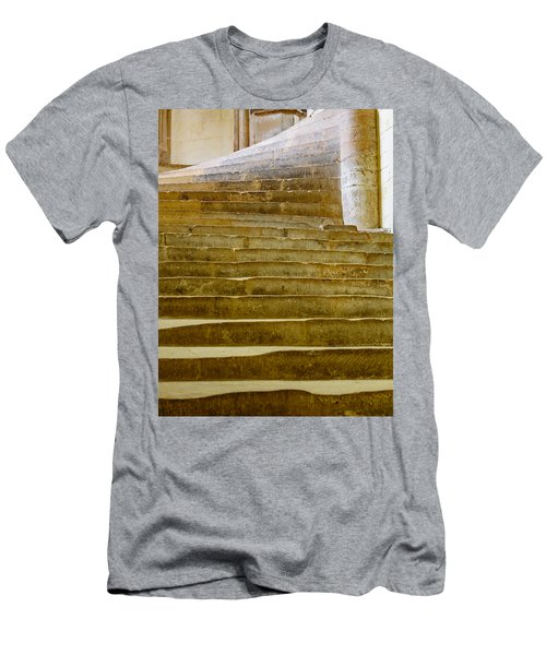 Wells Cathedral Steps Men's T-Shirt (Athletic Fit)