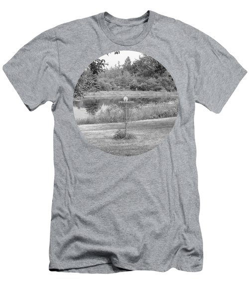 Wessel Pines Disc Golf Course Men's T-Shirt (Athletic Fit)