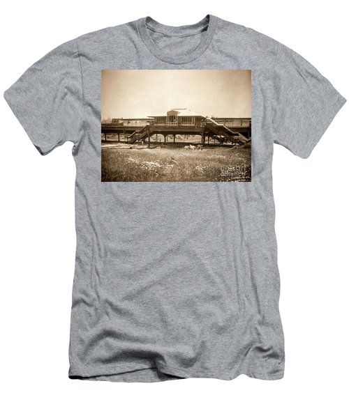 West 207th Street, 1906 Men's T-Shirt (Slim Fit) by Cole Thompson