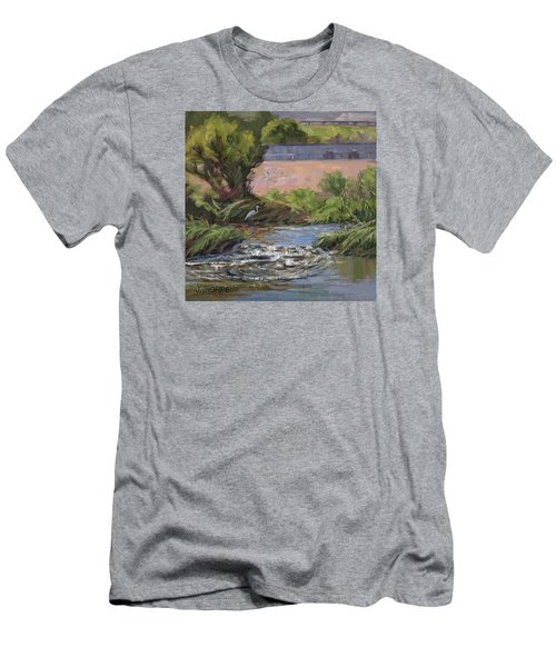 West Of Fletcher Bridge Men's T-Shirt (Athletic Fit)