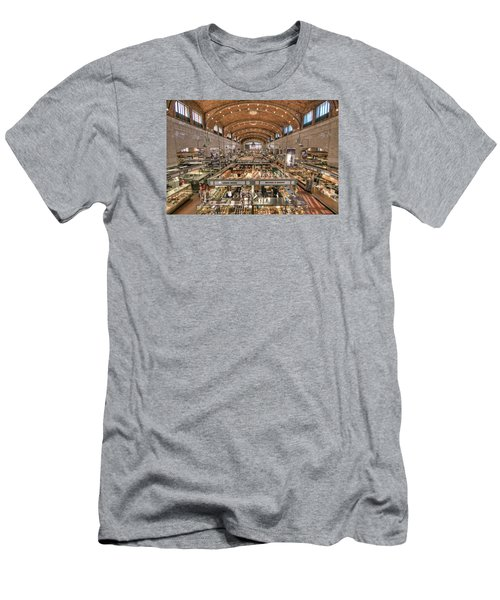 Men's T-Shirt (Slim Fit) featuring the photograph West Side Market by Brent Durken