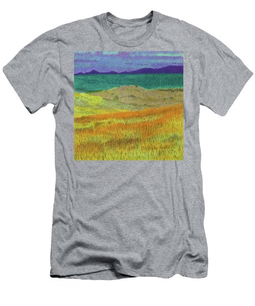 Western Edge Prairie Dream Men's T-Shirt (Athletic Fit)