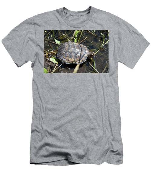 Western Pond Turtle, Actinemys Marmorata Men's T-Shirt (Athletic Fit)